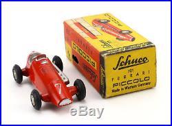 SCHUCO Piccolo 701 Ferrari Rennwagen 7 OVP Vintage Model Racing Car Boxed 50er J