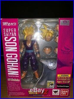 SH Figuarts SDCC SS Gohan Super Saiyan Son Gohan and SDCC Piccolo Dragonball Z