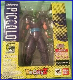 S. H. Figuarts Bandai DBZ Piccolo San Diego Comic Con Exclusive! RARE