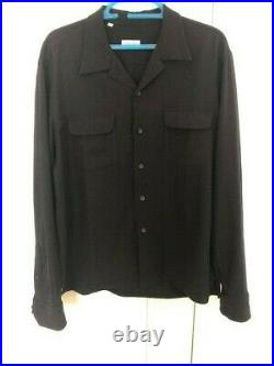 Salvatore Piccolo Mens Overshirt (Large) Drake's / Trunk / Anglo