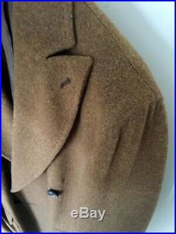 Salvatore Piccolo Napoli Italy Neapolitan Double-breasted Wool Coat 48EU 38