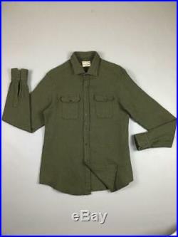 Salvatore Piccolo Napoli Wool/Cotton Japan Fabric Overshirt size M