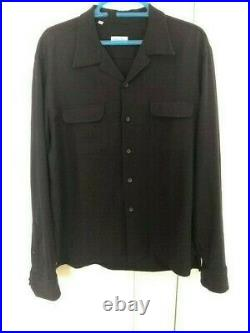 Salvatore Piccolo Overshirt LARGE (Drake's / Anglo / Trunk)