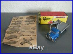 Schuco PICCOLO Nr. 769 Krupp-Kranwagen mit Seilausleger+OVP+Beipackzettel