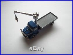Schuco PICCOLO Nr. 769 Lkw mit Seilausleger Krupp Kran blau