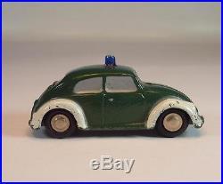 Schuco Piccolo 1/90 No. 712/720 VW Käfer Polizei #4317