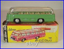 Schuco Piccolo 1/90 No. 740 Mercedes Bus grün in O-Box #6914