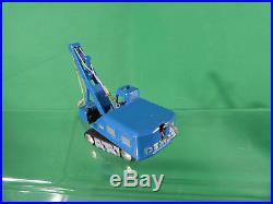 Schuco Piccolo 760 DEMAG Schaufelbagger blau vintage original 1960's