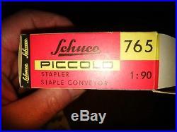 Schuco Piccolo 765 STAPLER western Germany 1961 1969 Vintage avec boîte complet