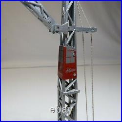 Schuco Piccolo Liebherr Turm Drehkran 762 BLAU 1960 ern LotAV20/4