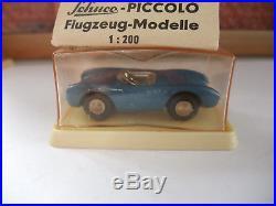 Schuco Piccolo altes Orginal # 708 Porsche in Kuppelverpackung