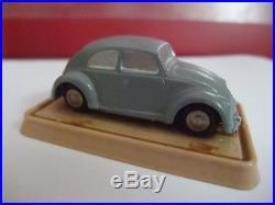 Schuco Piccolo altes Piccolo #712 VW Käfer grau in Kuppelverpackung