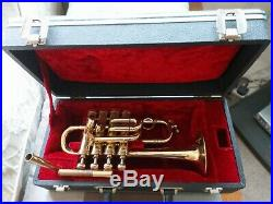 Selmer 1983 Piccolo trumpet Bb A Pipes and Schilke MP. V g. Condition