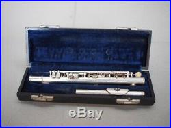 Selmer Bundy C Silver Plated Piccolo Flute with Case