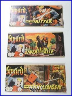 Sigurd Piccolo Sammlung 2. Serie Nr. 1 87 komplett Lehning 1961 Zustand 2
