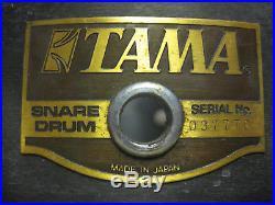 TAMA 14X3 ARTSTAR PICCOLO SNARE withnew Aquarian Studio X Head