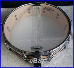 TAMA MAPLE SHELL 14 x 3.5 PICCOLO SNARE DRUM SOUNDS / PLAYS GREAT VGC +wty