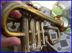 TROMPETTE PICCOLO SELMER HENRI PARIS trumpet embouchure getzen 50