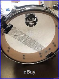 Tama 13 Piccolo Natural Lacquer Snare Drum CLEAN! 3x13