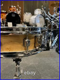 Tama Artwood 14 X 4 Piccolo Natural Maple Snare Drum #555