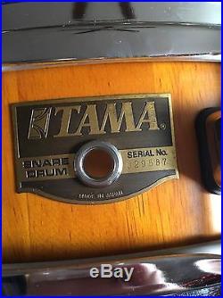 Tama Natural Wood Piccolo Snare 14 Rare