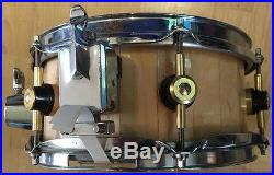 Tamburo extremely rare piccolo wooden snare 10 x 4
