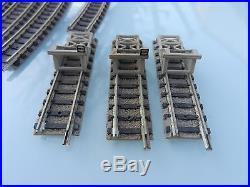 Train fleischmann piccolo echelle n lot de rails aiguillage croisement a voir