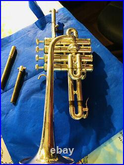 Tromba In Sib Acuto Schilke P5.4 Schilke Piccolo Trumpet, beatiful, instrument