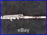 UEBEL G. R. HOLZ Piccolo Flöte Querflöte flute flauta Hammig