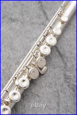 USED Sankyo Piccolo Flutes Artist Silver Free shipping