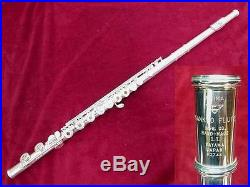 USED Sankyo Piccolo Flutes HAND-MADE DT Silver Free shipping