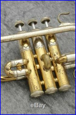USED V. Bach 311 Pic Piccolo Trumpet Free shipping