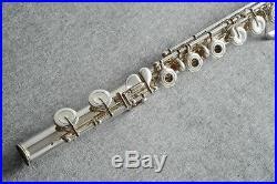 USED YAMAHA Piccolo Flutes YFL-61 Silver Free shipping