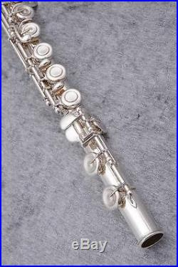 USED YAMAHA Piccolo Flutes YFL-811D Silver Free shipping