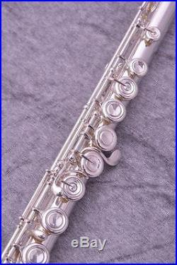 USED YAMAHA Piccolo Flutes YFL-811 Silver Free shipping