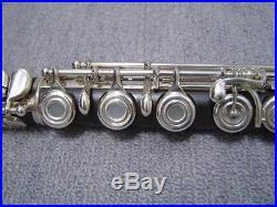 USED YAMAHA Piccolo Flutes YFL-894W black Free shipping