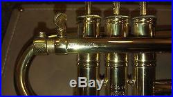 Used Antoine Courtois piccolo trumpet 3-valve France