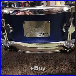 Used! CANOPUS Birch Piccolo Snare Drum 14x4 Made in Japan