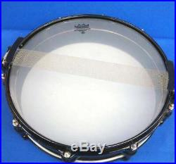 Used! PEARL Carbonply Maple Piccolo Snare Drum CM1435/B 14x3.5 Free Floarting
