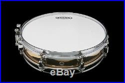 Used Pearl Brass Piccolo Snare 13 x 3.5