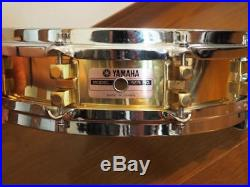Used! YAMAHA SD935BS Brass Piccolo Snare Drum 14x3.5 10-Tension Made in Japan