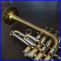 Vincent Bach Stradivarius ARTISAN piccolo trumpet A/Bb, case GAMONBRASS
