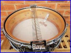 Vintage 1960s Premier Royal Ace Piccolo Snare Drum 14 x 4