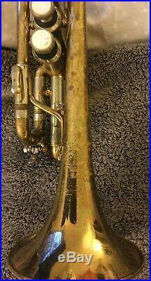 Vintage 1970s CORP-era Vincent Bach 311 G Piccolo Trumpet in Original Lacquer