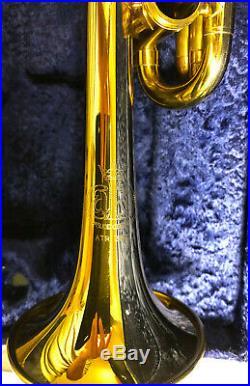 Vintage 4 Ventile Piccolotrompete, fast neu