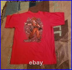 Vintage Dragon Ball Z Anime Promo Shirt L Super Saiyan Piccolo Gohan Goku Trunks