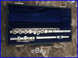 Vintage Piccolos F. A. Reynolds Abilene, Texas ARGENTA SILVER HEAD Flute