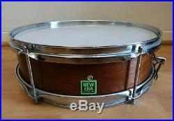 Vintage & Rare Premier New Era 14 X 4 Piccolo Snare Drum 1960's / 1970's