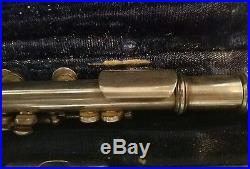 Vintage Silver Wm S Haynes Boston, Mass. Db piccolo, serial #9287
