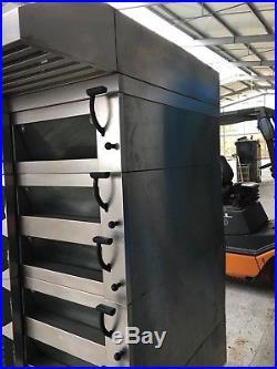 Wachtel Backofen Etagenofen Typ PICCOLO I 5 mit 5 Backkammern